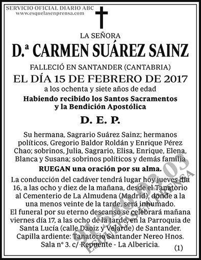 Carmen Suárez Sainz